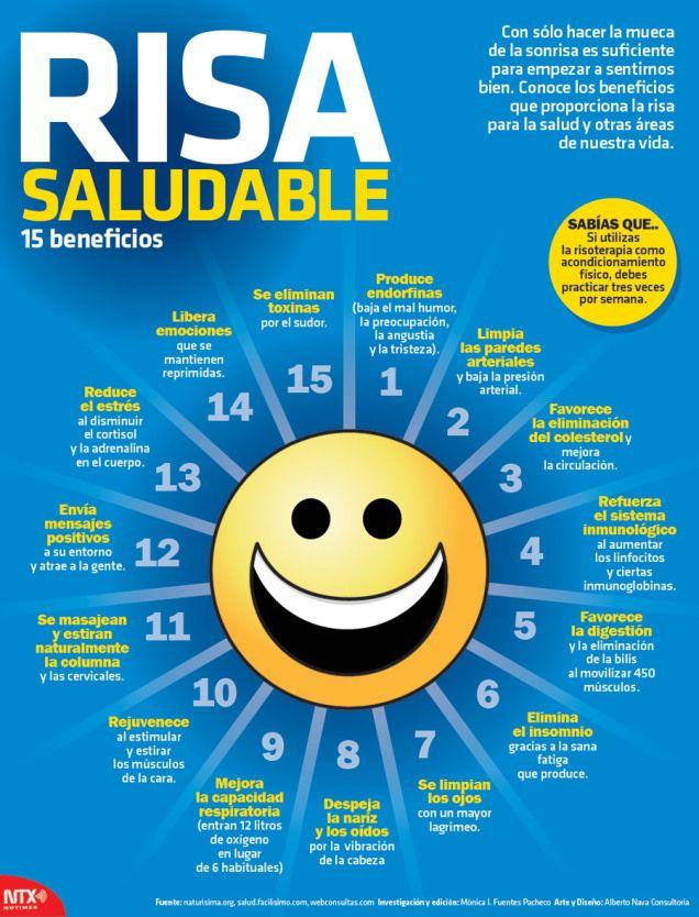 Reír, una forma ideal para alejar el estrés