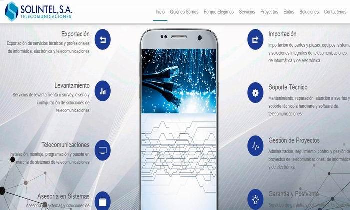 SOLINTEL S.A, una opción inteligente en comunicaciones