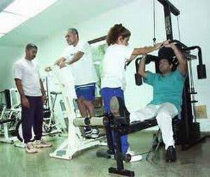 Rehabilitación de pacientes en Cuba