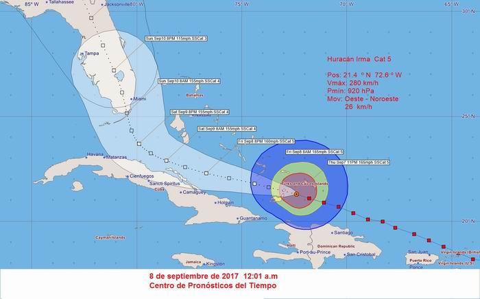 La Habana inundada tras el paso del huracán Irma — En Fotos