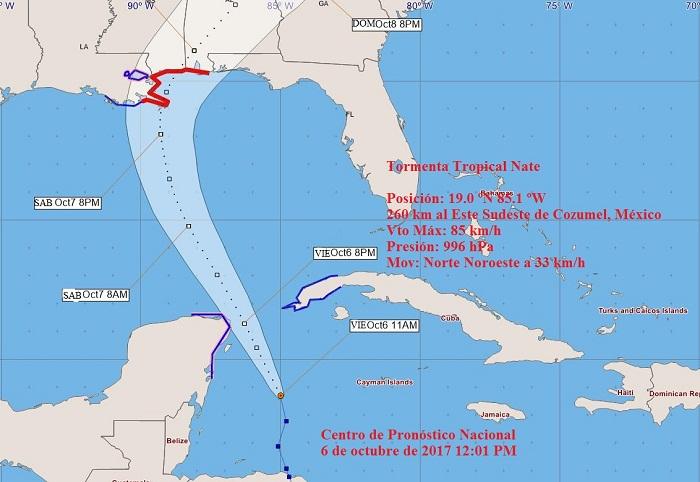 Alertan sobre posibles inundaciones en litoral sur de Cuba