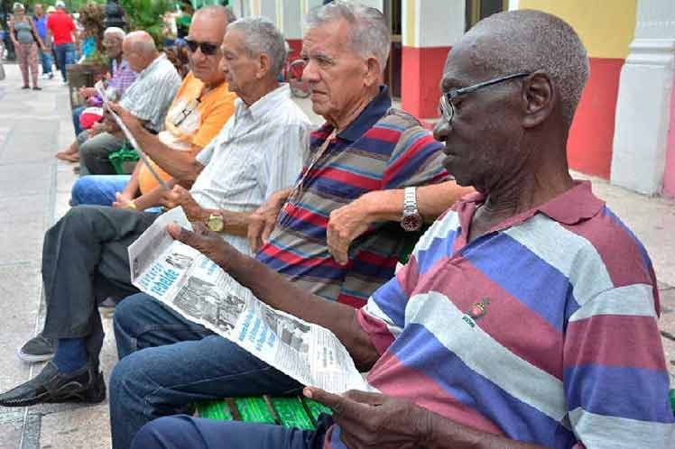 Sancti Spiritus Province in Cuba with the Largest Aged Population