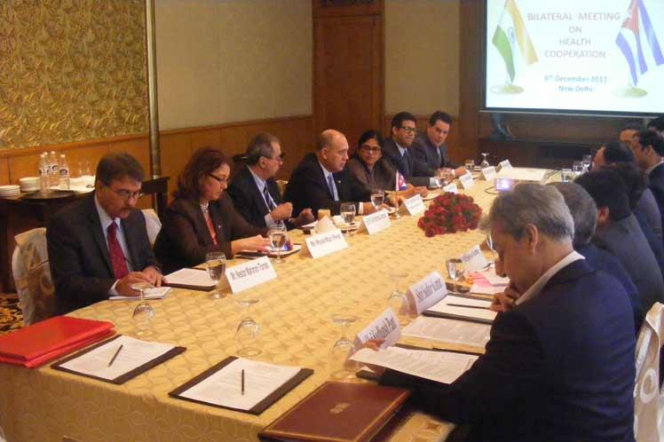 Impulsan La India y Cuba cooperación en materia de salud