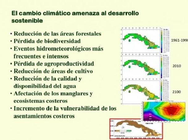 Presentan en la FAO plan de Cuba para enfrentar cambio climático