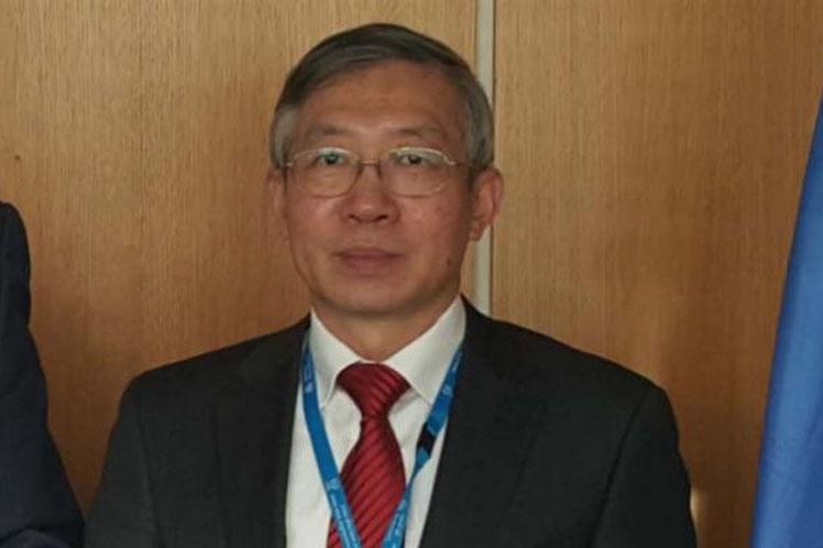 Director General Adjunto y jefe del Departamento de Cooperación Técnica del OIEA, Dazhu Yang