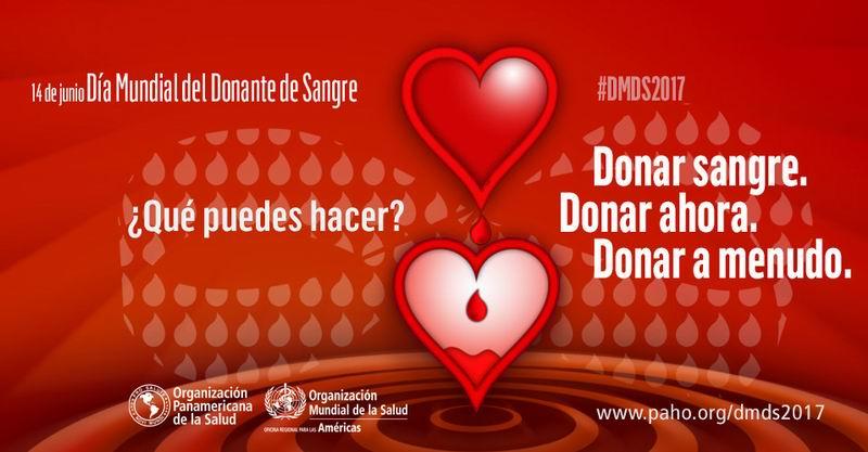 14 de junio: Día Mundial del Donante de Sangre (+Audio)