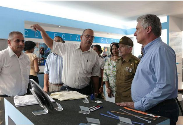 The Inauguration of the First Factory for Tablets and Laptops in Cuba (Photos)