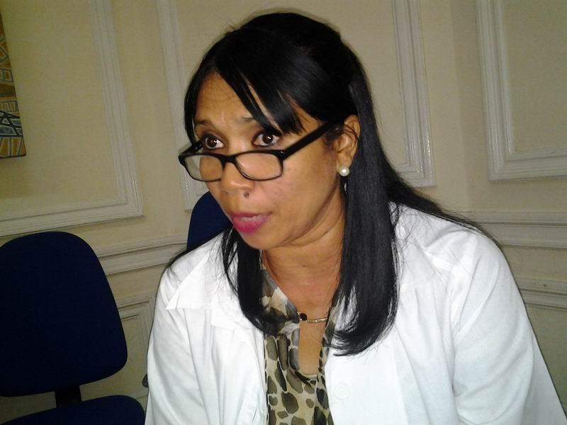 Directora del Banco Provincial de Sangre en la capital Dra. Delia Esther Porto. Foto: Isel Quintana Freyre.