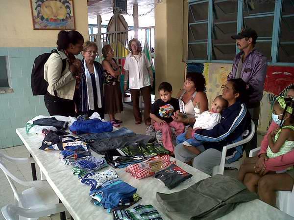 Donativo a niños con cáncer en el Hospital Pediátrico Juan Manuel Márquez. Foto Rosemary Bernal