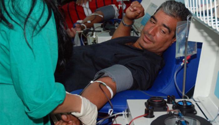 Destacada labor de los artemiseños en las donaciones de sangre