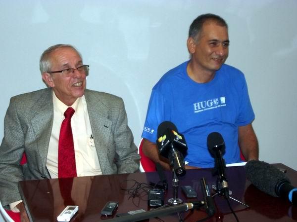 F�lix est� en Cuba, con sonrisa de victoria (+Audio y Fotos)