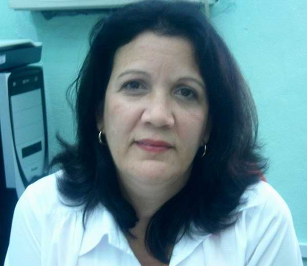 Maritza, delegada directa de Cienfuegos a Conferencia Nacional de Salud
