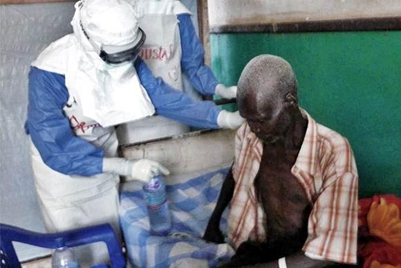 El Ébola amenaza