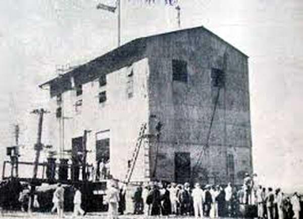Edificio del proyecto termomaritimo. Foto José Miguel Solís