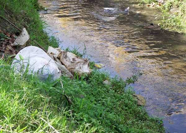 Las fuentes de agua potable se contaminan por la inconsciencia humana