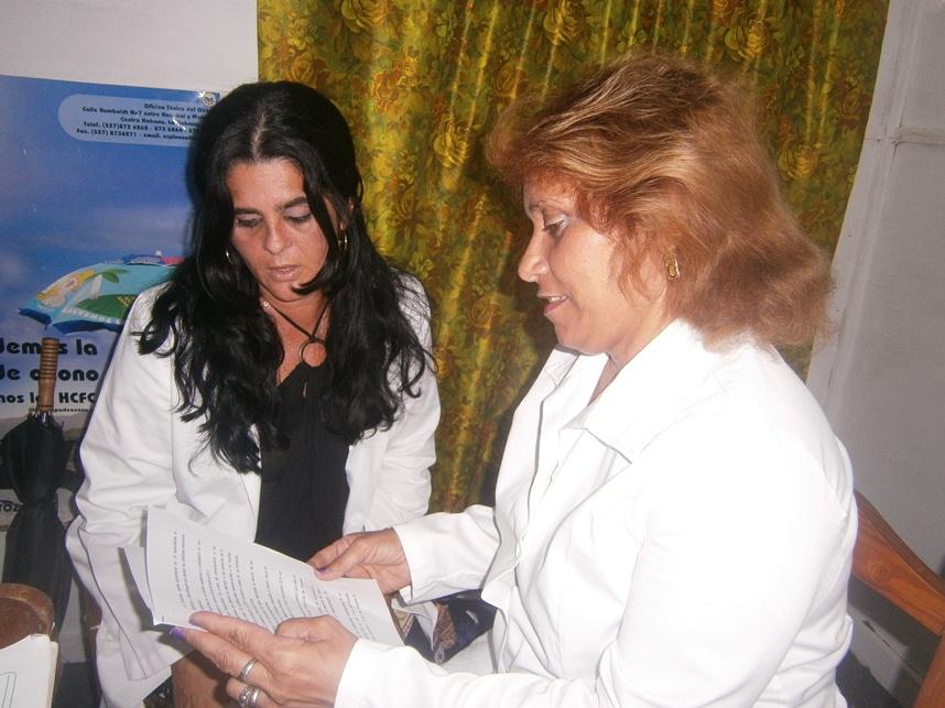 Especialistas del Programa de Atención al Adulto Mayor en Cienfuegos: Foto: Mireya Ojeda