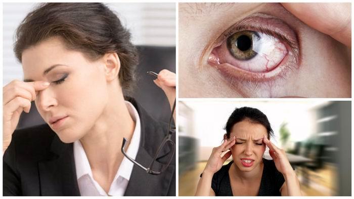 Ojo, mucho ojo con el estrés visual
