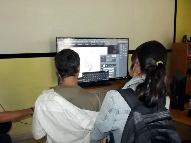 El dibujo digital es otro de los atractivos hasta para artistas profesionales.