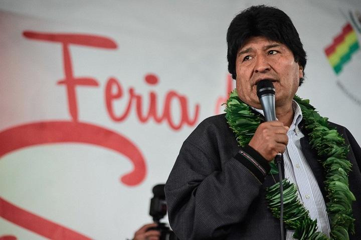 Agradece Evo Morales ayuda médica cubana durante Feria de Salud en Bolivia