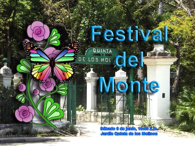 III edición del Festival del Monte a celebrarse el 6 de junio en la Quinta de los Molinos.Foto y montaje: Gilberto González García