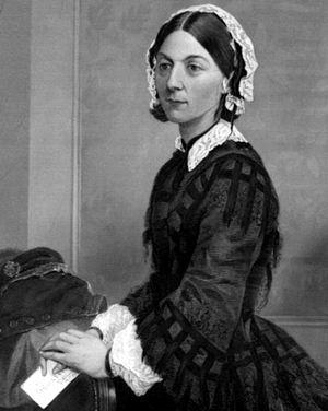 lorence Nightingale, célebre enfermera, escritora y estadística británica