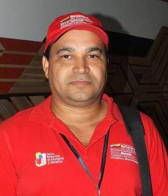 Coordinador de Tecnología de la Información y la Comunicación para el Desarrollo Educativo en el estado bolivariano de Guárico, Franklin Carapa Unda. Foto: Abel Rojas.