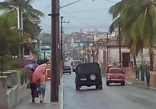 Intensas lluvias en Matanzas
