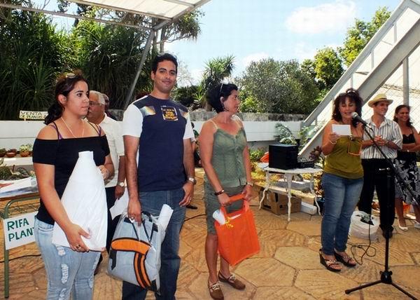 Ganadores del Concurso de Fotografía del Primer Festival Nacional de las Plantas. Foto: Abel Rojas.