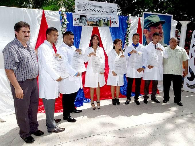 Ratifica Cuba alta vocación en la formación de profesionales de las ciencias médicas