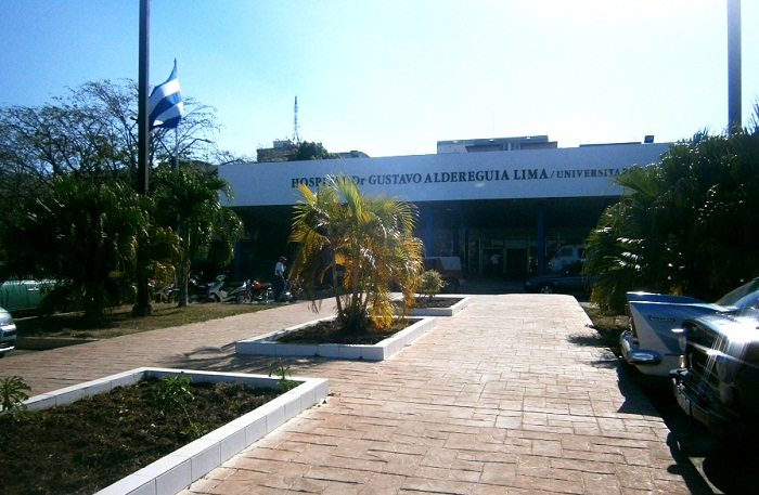 Complex Surgery carried out in Hospital from Cienfuegos
