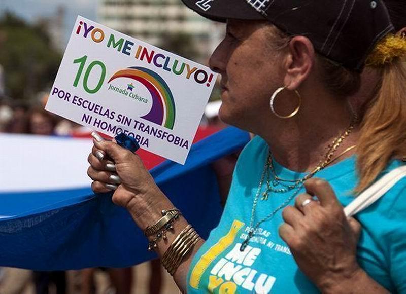 Una década contra la homofobia y la transfobia. Foto: Irene Pérez