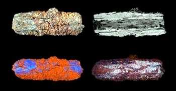 Los egipcios fabricaban joyas con restos de meteoritos