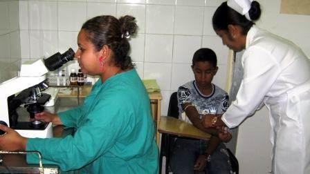 Se prestan 28 servivios en atenci�n primaria de salud, incluido laboratorio cl�nico y rayo x. Foto: Carlos Sanabia.