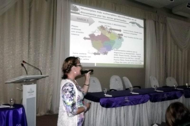 Directora Unidad de Medio Ambiente Lisbet Font Vila presentó programa de acción Tarea Vida en Camagüey.