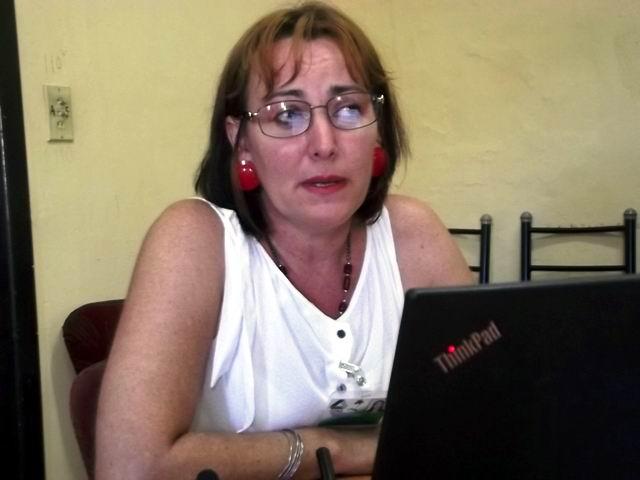 Directora de la Unidad de Medio Ambiente en Camagüey, Doctora Lisbet Font Vila