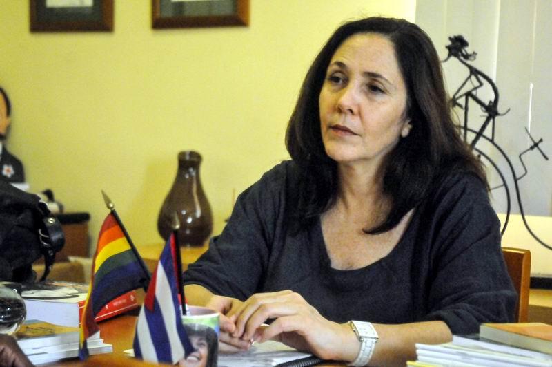 Mariela Castro Espín, directora del Centro Nacional de Educación Sexual, Cenesex, en entrevista exclusiva con la Agencia Cubana de Noticias