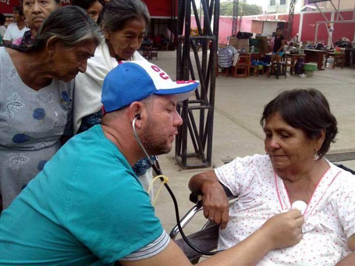 Elogian autoridades peruanas labor de brigada médica cubana