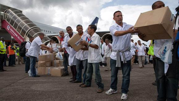 El símbolo de la solidaridad cubana está de 15: Contingente Henry Reeve