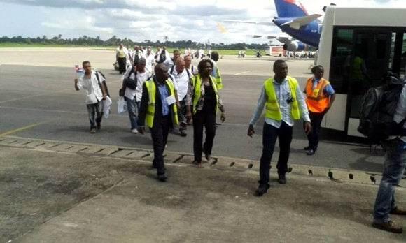 Llegan a Sierra Leona colaboradores cubanos de la salud