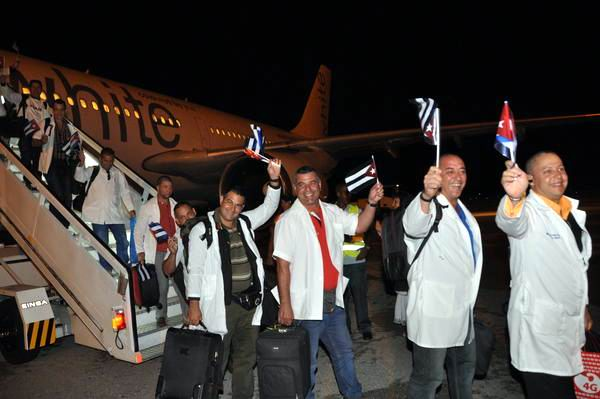 Cuban Medical Professionals Return from Africa