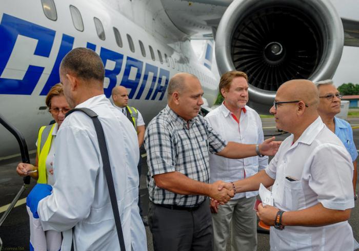 Agradece México envío de médicos cubanos para asistir a damnificados