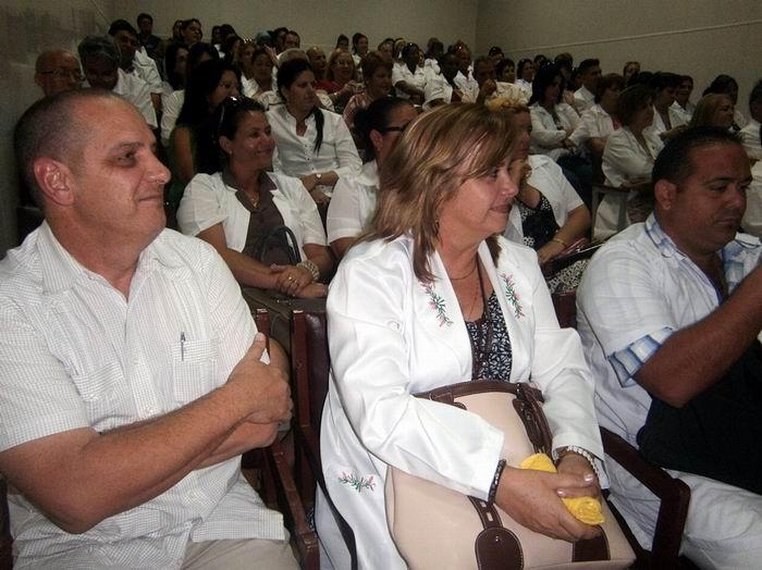 Reconoce Jefa de Salud Mental de OPS ejemplo de Cuba. Foto: Mireya Ojeda