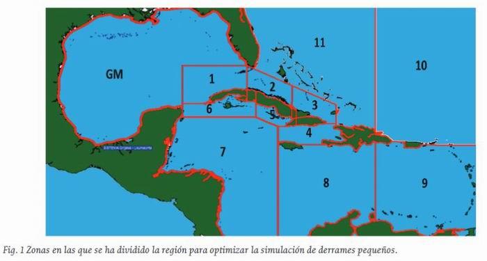 Desarrollan modelo cubano para predecir comportamiento de derrames petroleros