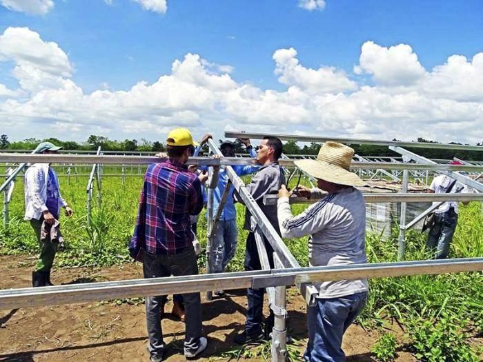 Impulsan parque solar en Sancti Spíritus con novedosa tecnología