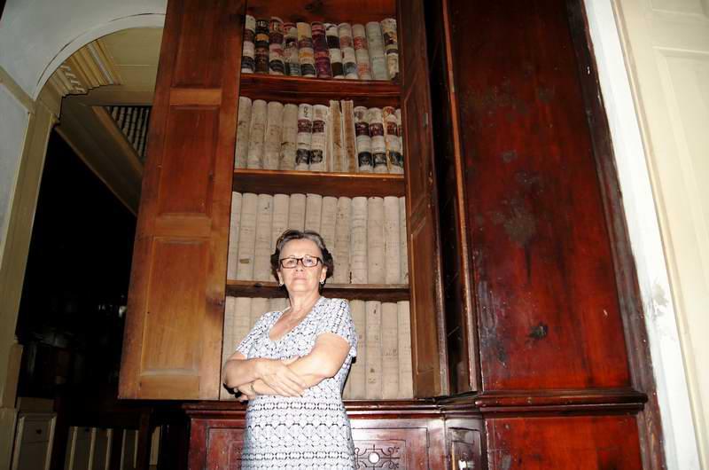 Proponen fondo documental del museo Farmacia Francesa, de Matanzas, a Patrimonio de la Humanidad. Fotos: José Miguel Solís