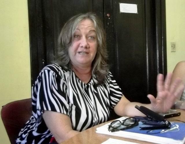Directora Centro de Investigaciones medio Ambiente, Nereida Junco.