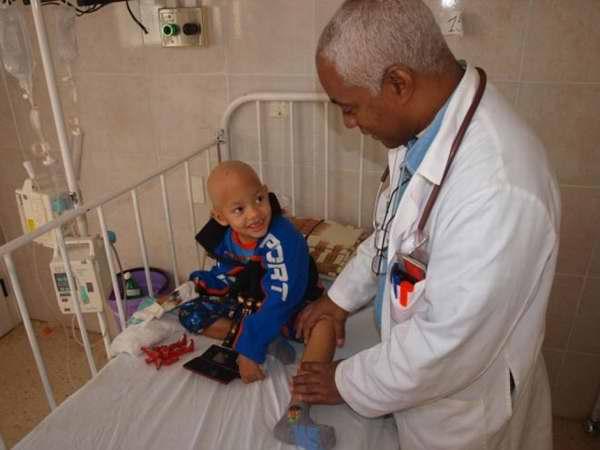 niños con leucemia