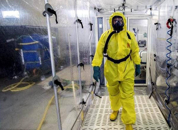 Un traje más seguro para el ébola