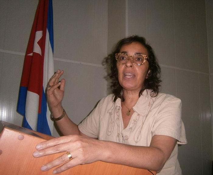 Jefa de la Unidad de Salud Mental y Uso de Sustancias de la Organización Panamericana de la Salud (OPS), Doctora Dévora Kestel. Foto: Mireya Ojeda