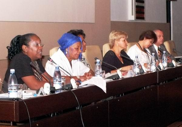 Panel Prevención de las Infecciones de Transmisión Sexual y el VIH/SIDA en Cuba. Foto: Abel Rojas